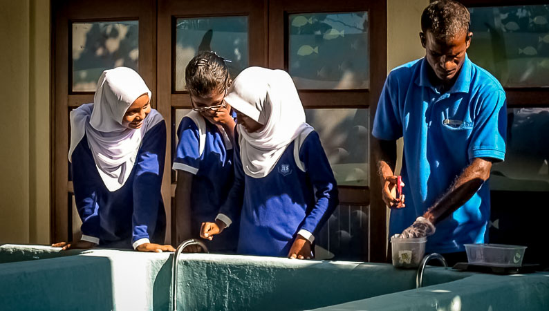 Bodu Huraa School - educational visits proved to be a success