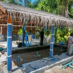 New turtle rehabilitation pools at Landaa Giraavaru