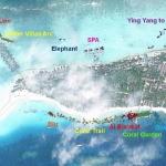 Coral Frame GPS map - Landaa Giraavaru