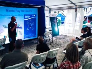 Maldives Marine Expo – Manta Ray Research (Island Diary – May)