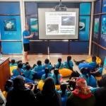 Maalhos School visit - marine life presentation