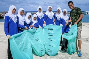 World Tourism Day Bodu Huraa with Marine Savers (Island Diary – September)