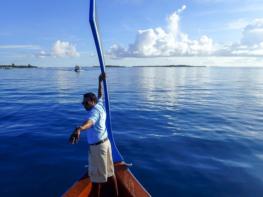 Cath Marine Biology intern, Maldives