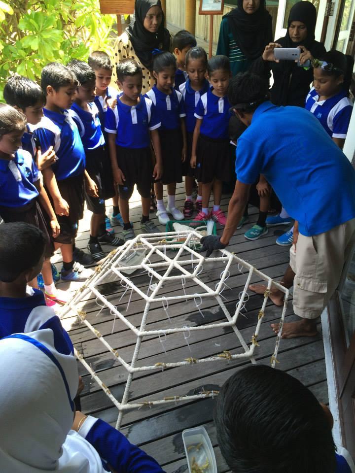 Bodu Huraa - school visit - 1