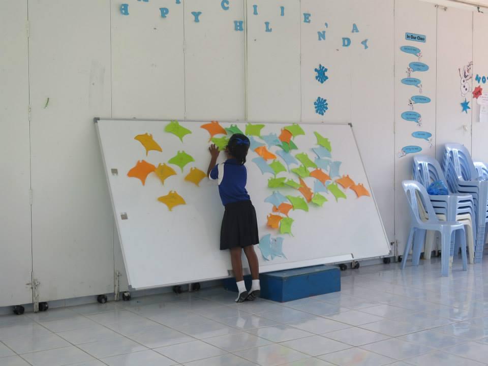Bodu Huraa - school visit - 7