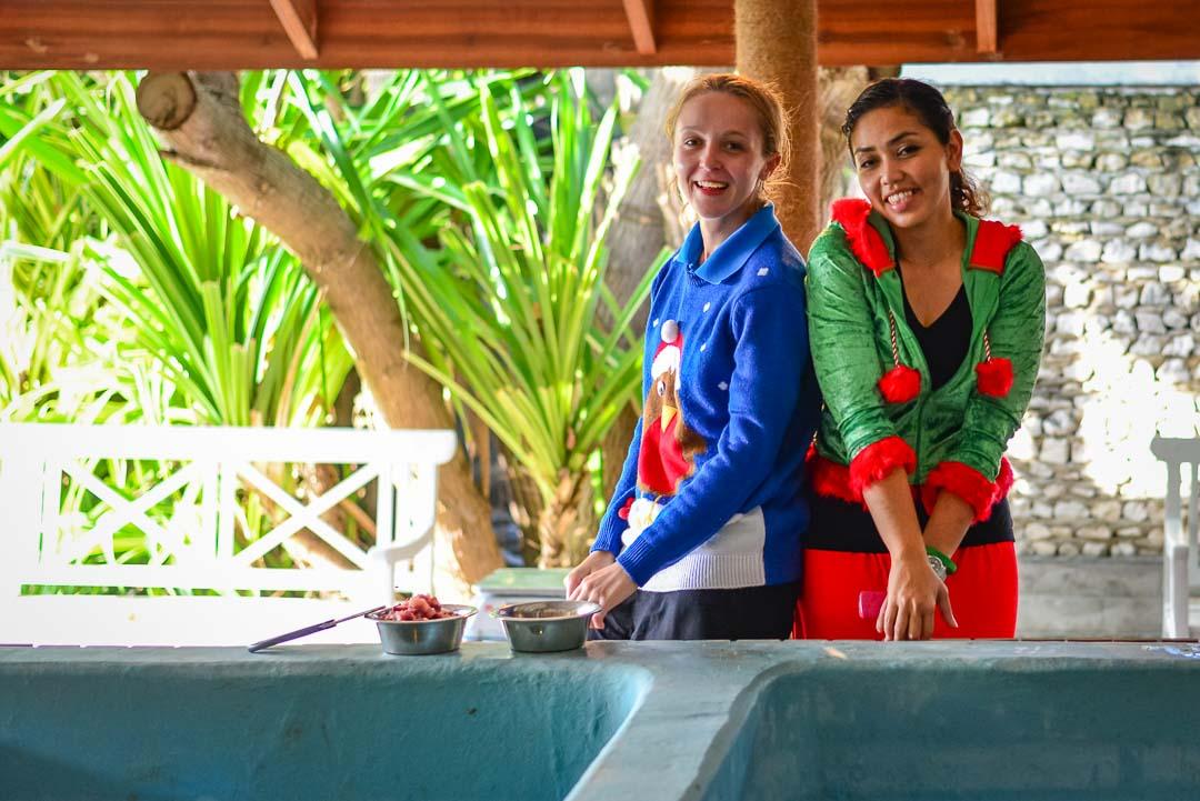 Emily – marine biology intern, Seamarc Maldives (1)