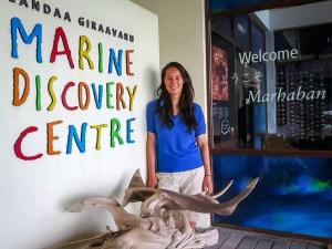 Roz – marine biology intern, Seamarc Maldives (1) L (Roz's Marine Biology Diary)