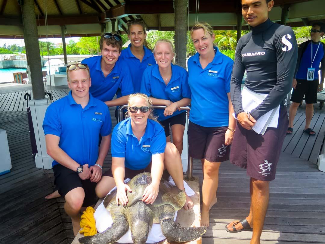 Seamarc Maldives Volunteers - Mark's blog