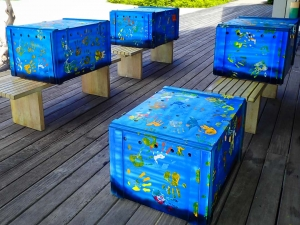 Maldives Flying Turtles - transport boxes