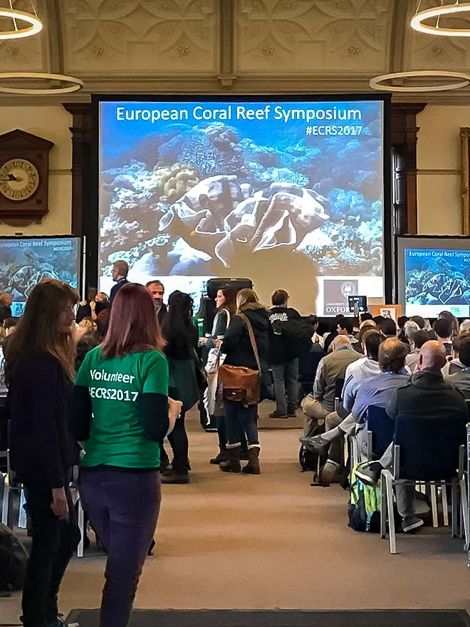 European Coral Reef Symposium (ECRS) 2017 Oxford University