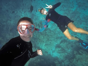 Hannah Internship - swimming with the fishes - Marine Savers Maldives
