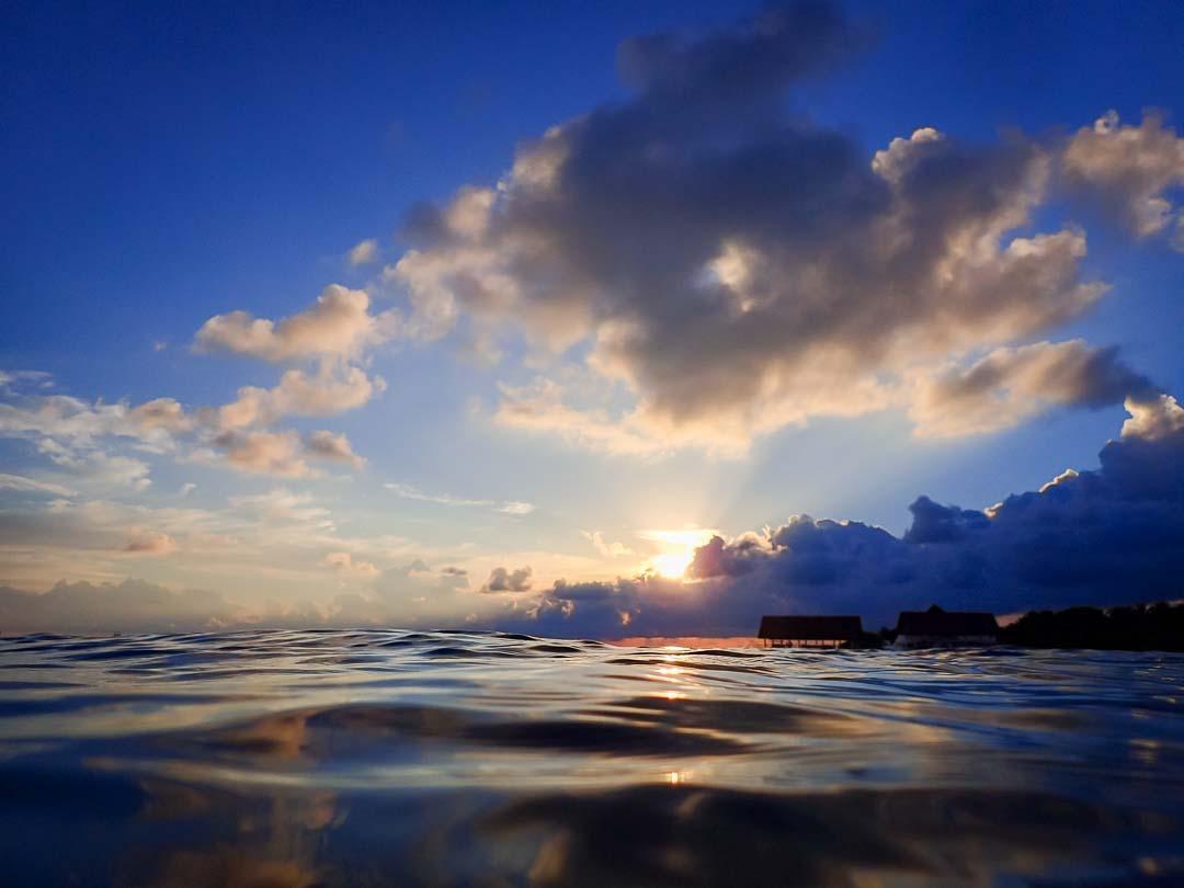 Lynn Internship - snorkelling, Marine Savers Maldives