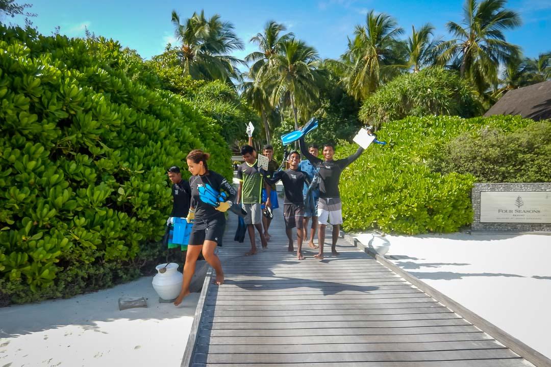 Apprenticeship programme, Four Seasons Resorts, Marine Savers Maldives (1)