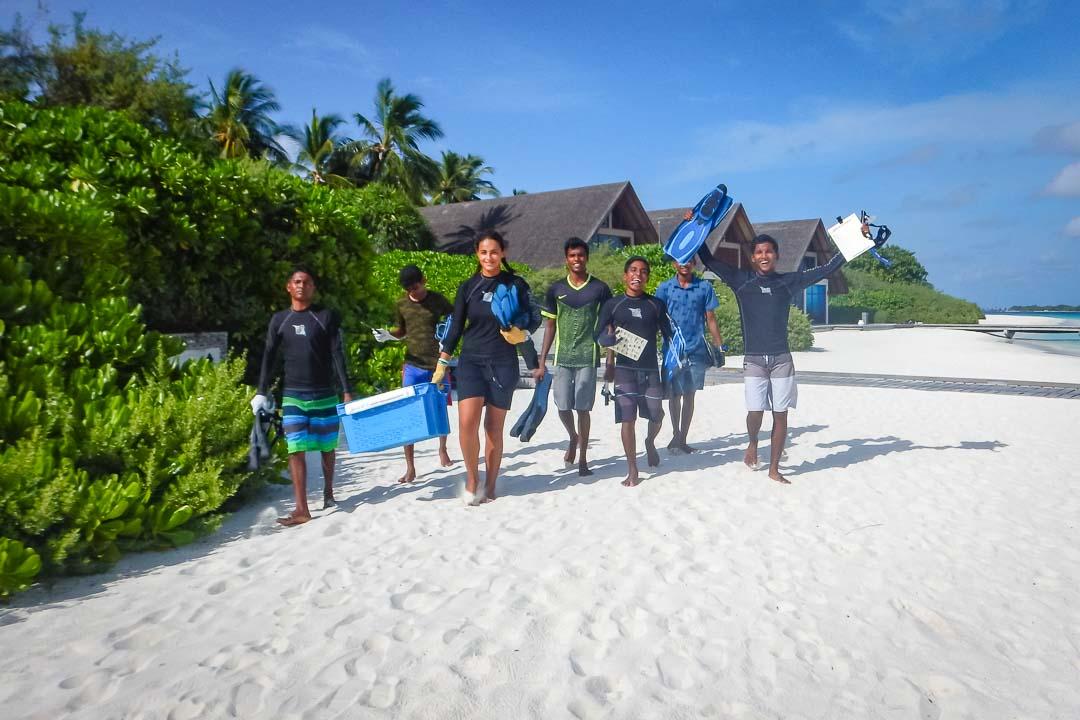 Apprenticeship programme, Four Seasons Resorts, Marine Savers Maldives (2)
