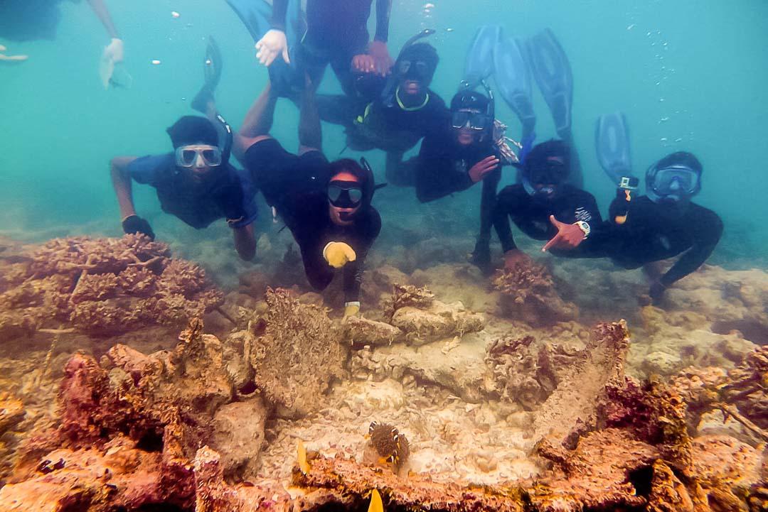 Apprenticeship programme, Four Seasons Resorts, Marine Savers Maldives (5)