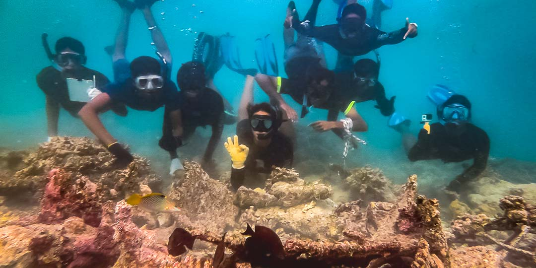 Apprenticeship programme, Four Seasons Resorts, Marine Savers Maldives (6)
