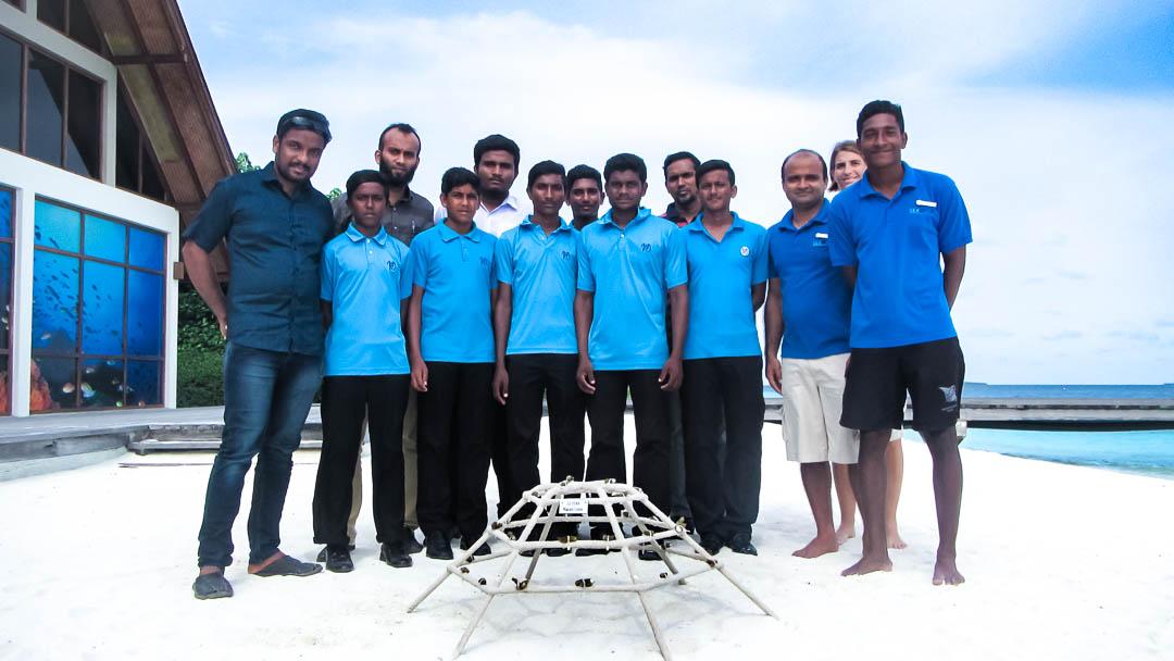 Maalhos school visit - Marine Savers Maldives