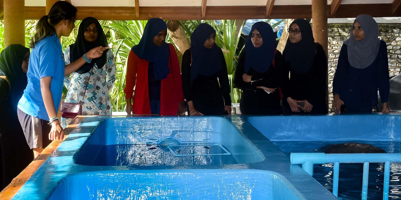 Student awareness MNU Malé Maldives [KH 2018.10] (2)