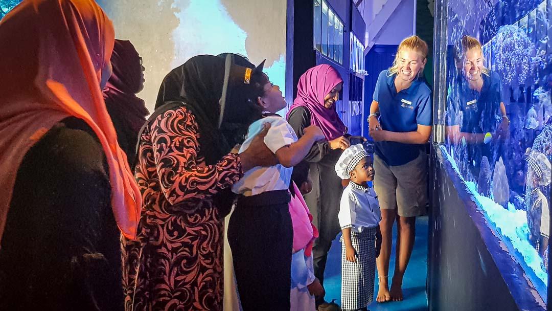 School visit to Marine Savers by Kudarikilu