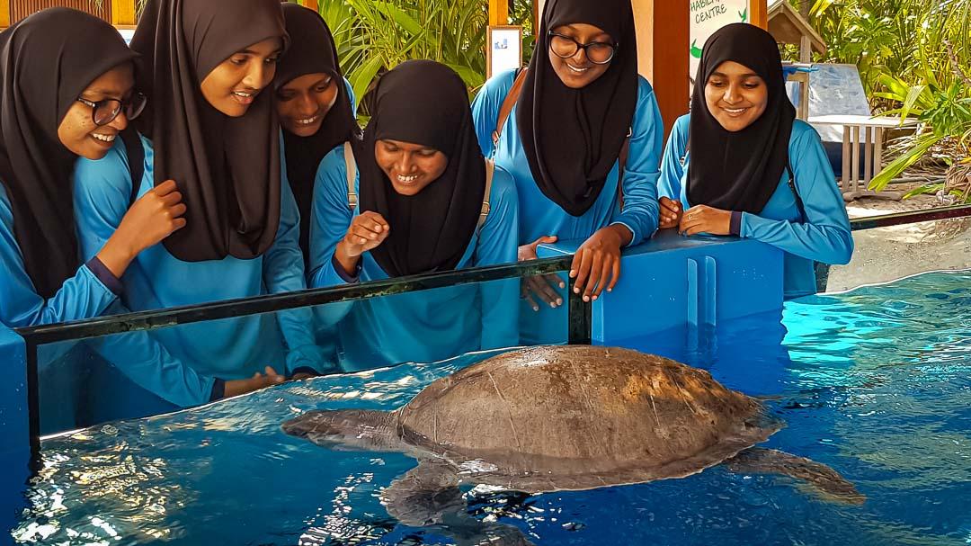 School visits to Marine Savers by Eydafushi