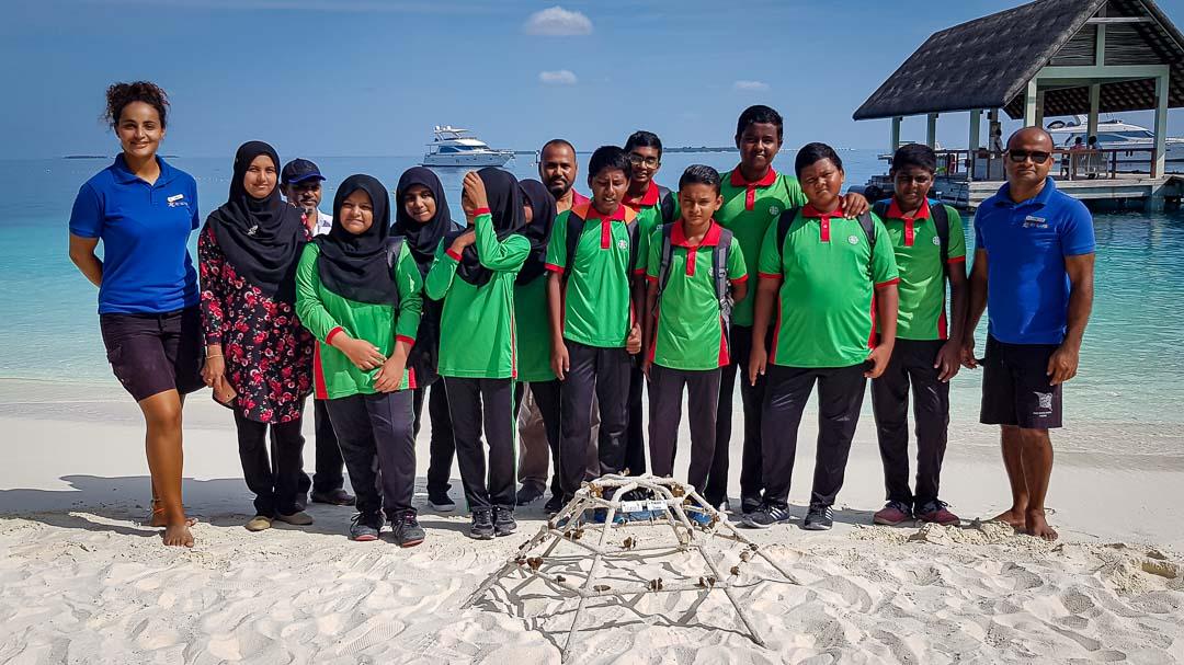 School visits to Marine Savers by Kendhoo