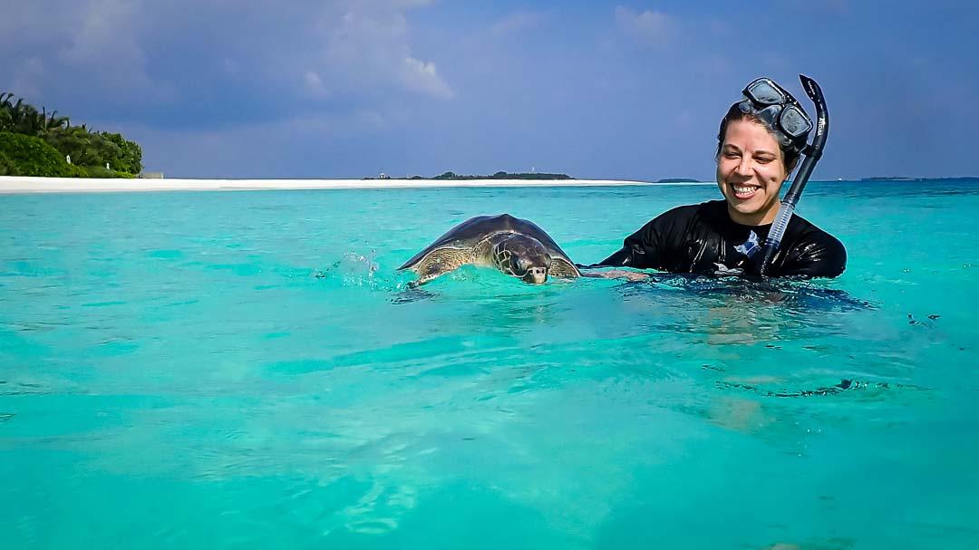 Asha sea turtle rehabilitation centre Maldives