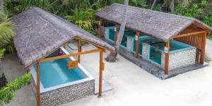 Turtle recovery pools, Landaa, Maldives (Our Maldivian Sea Turtle Conservation Programmes)