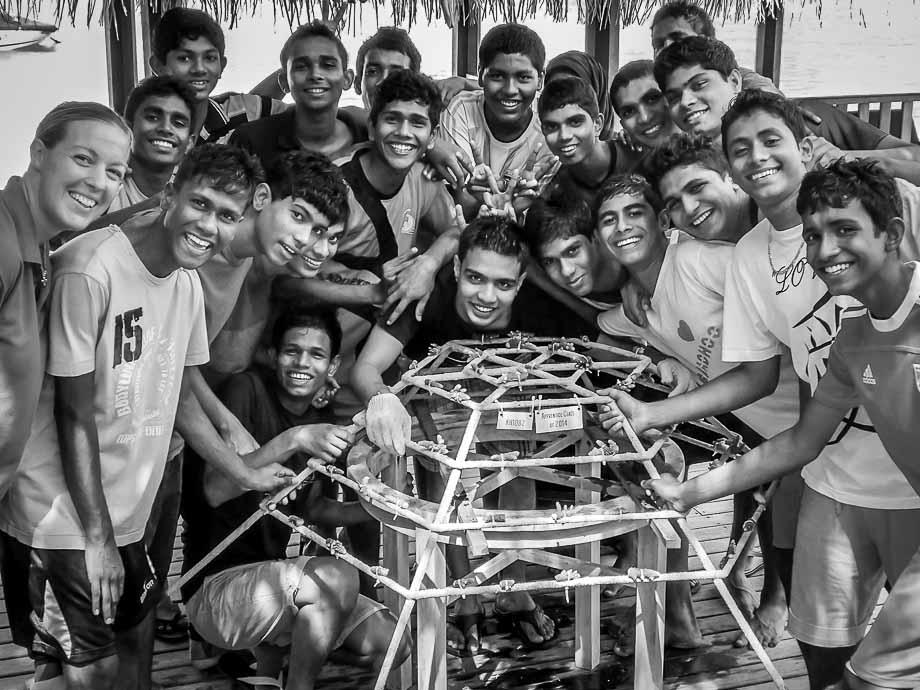 Kuda Huraa apprentice class of 2014
