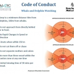 Seamarc code of conduct, which should be employed on all cruises