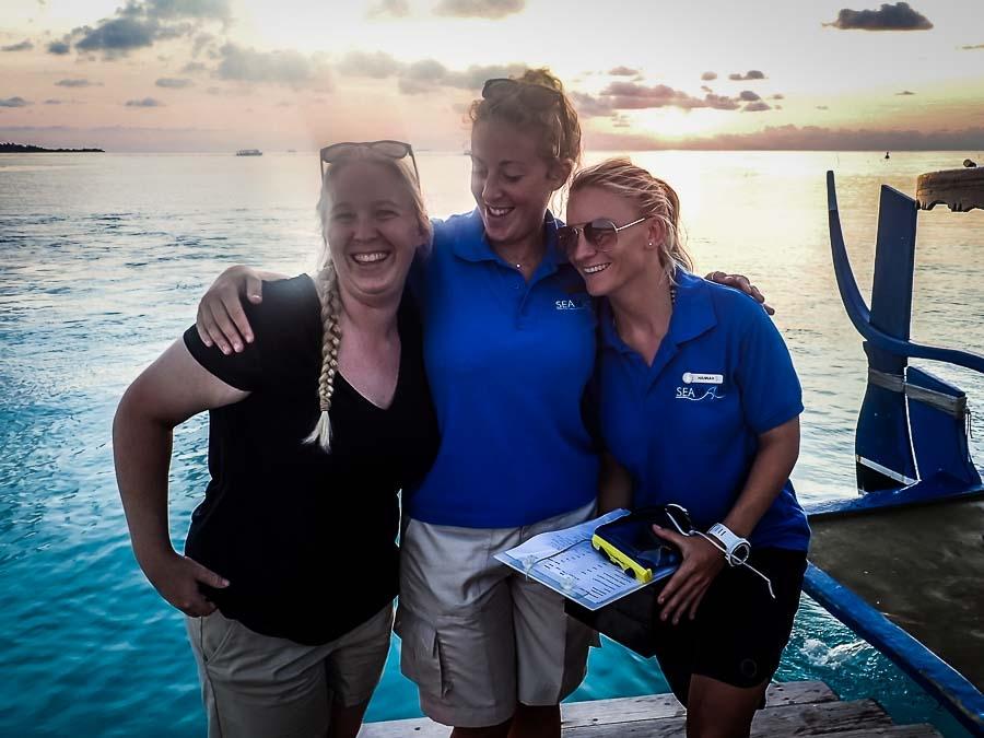 Meet Cath – our new Marine Biology Intern
