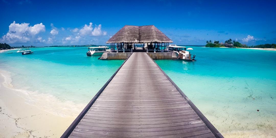 Seamarc Maldives marine biology internship - Kuda Huraa Jetty
