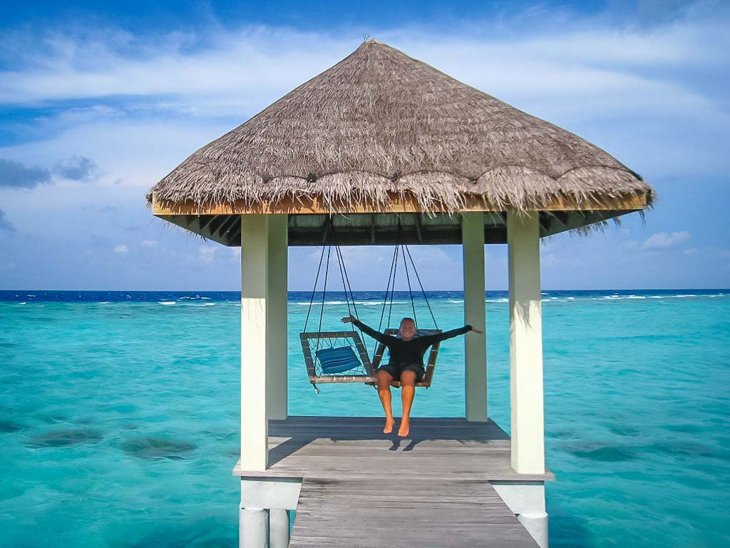 Lauren's blog - marine biology volunteer with Seamarc Maldives - relaxation