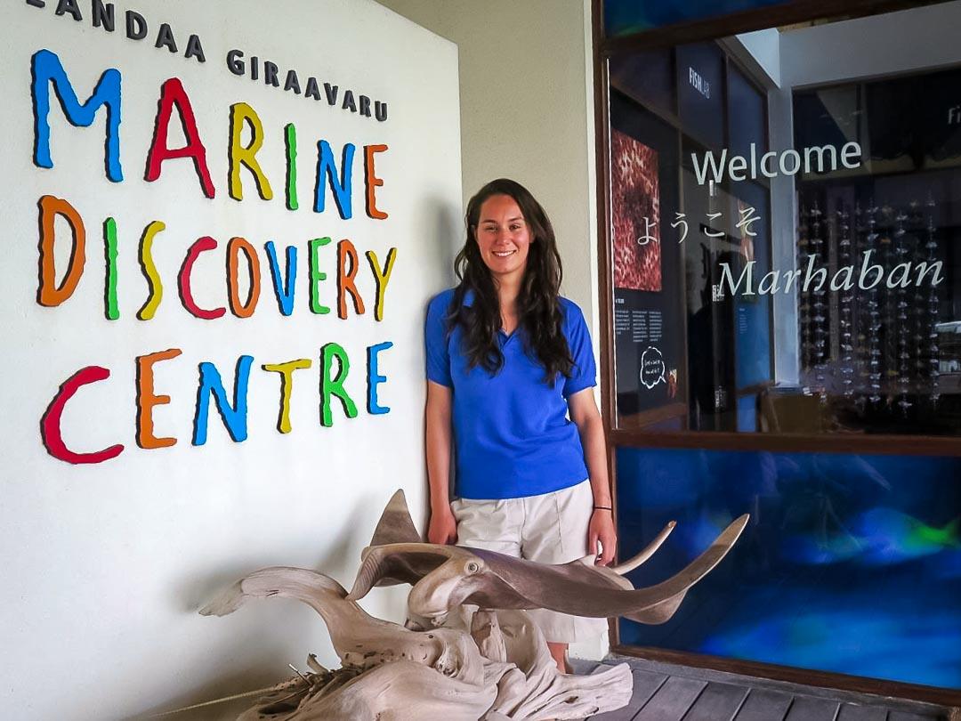 Roz – marine biology intern, Seamarc Maldives (1) L
