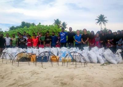 Fainu (Raa Atoll, Maldives) - Coral Restoration
