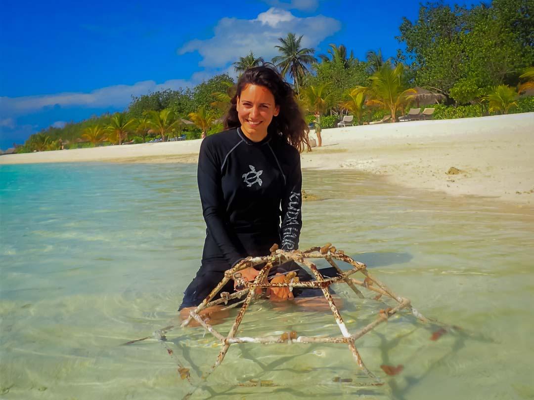 Irene's Internship - Marine Savers Maldives (1)