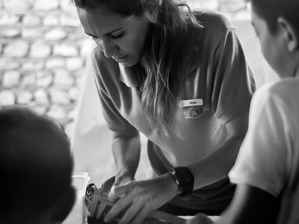 Irene's Internship – Junior Marine Savers Maldives