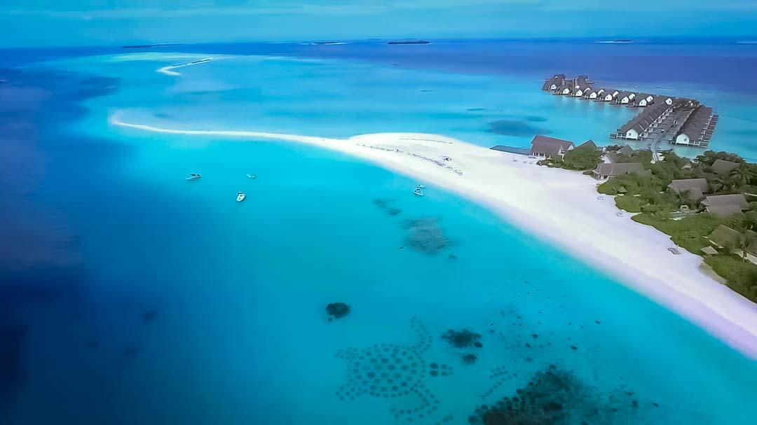 Marine biology internship Maldives – Thije – aerial
