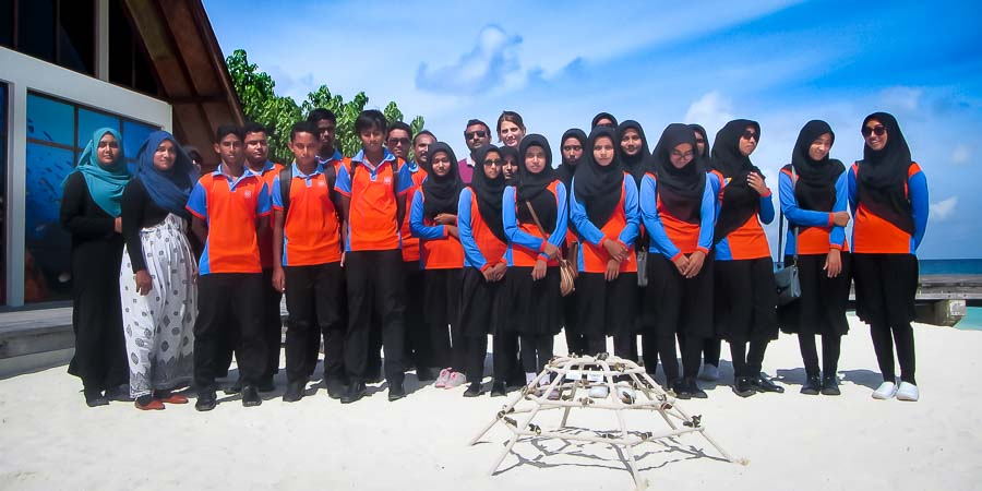 Kihaadhoo School [06-Aug-18] Marine Savers Maldives