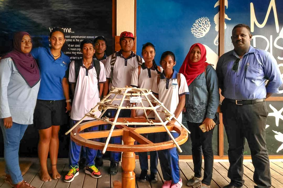 Outreach - Kamadhoo school education visit - Marine Savers Maldives (1)