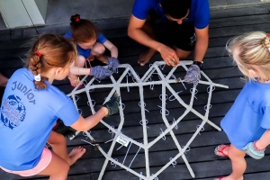 Junior Marine Savers child activities Reefscapers Maldives (Reefscapers Diary 2019)