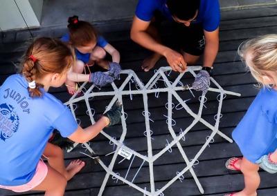 Junior Marine Savers child activities Reefscapers Maldives