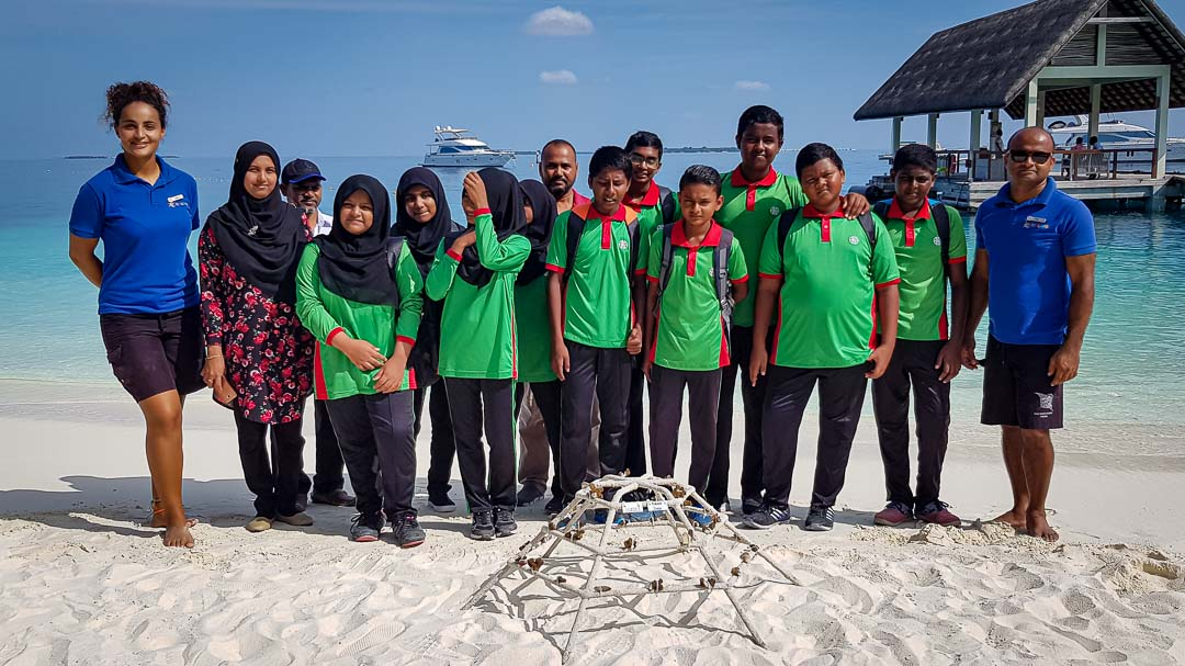 School visits to Marine Savers by Kendhoo