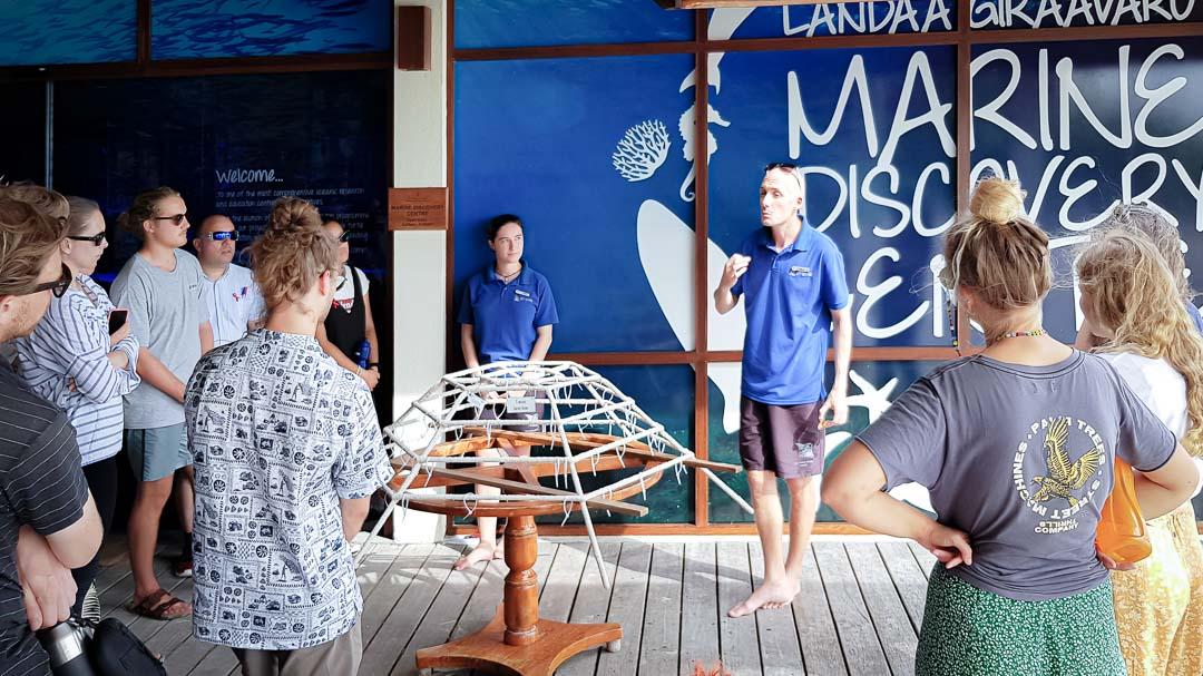 Education Flinders University visit Marine Savers