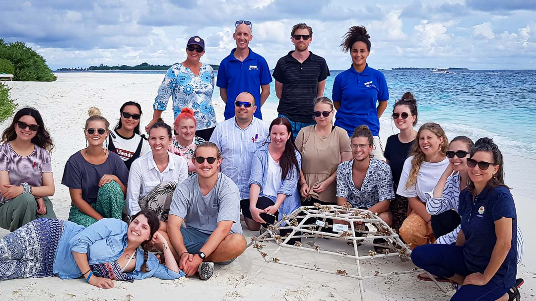 Education Flinders University visit Marine Savers
