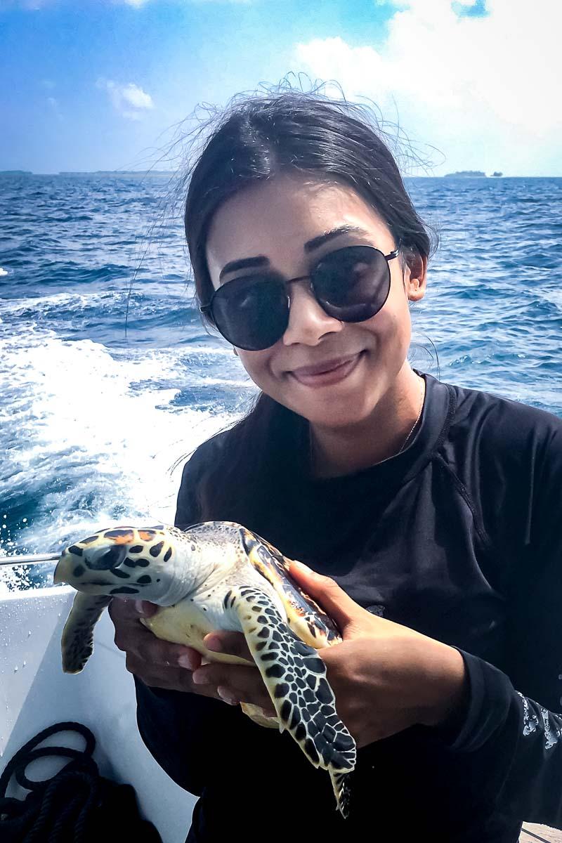 Maanee turtle conservation internship Maldives (1) Cookie