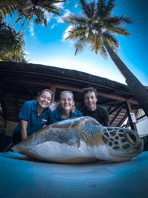 Iris – Marine Biology internship Maldives Turtle conservation