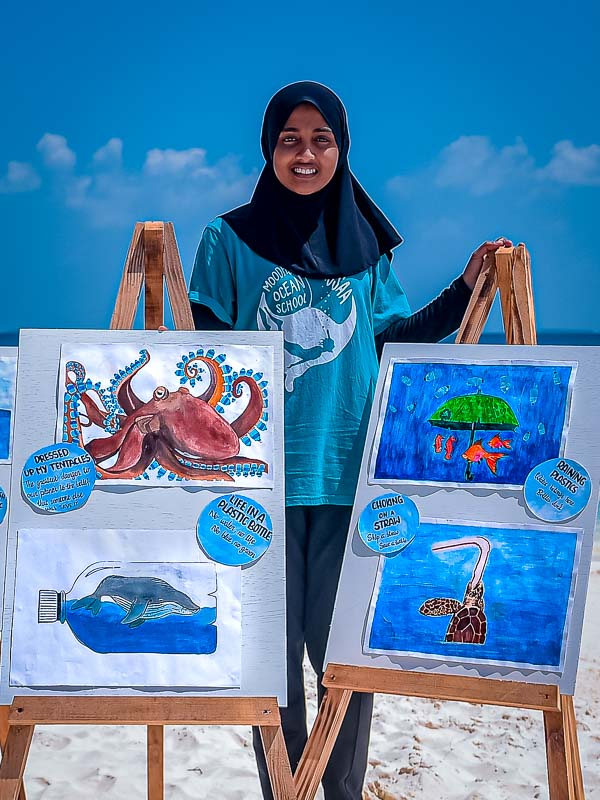 Turtle rescue 10-year anniversary Marine Savers Maldives