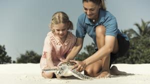 Four Seasons sustainability turtles [MAL_1008] (Four Seasons' Armando Talks Sustainability)