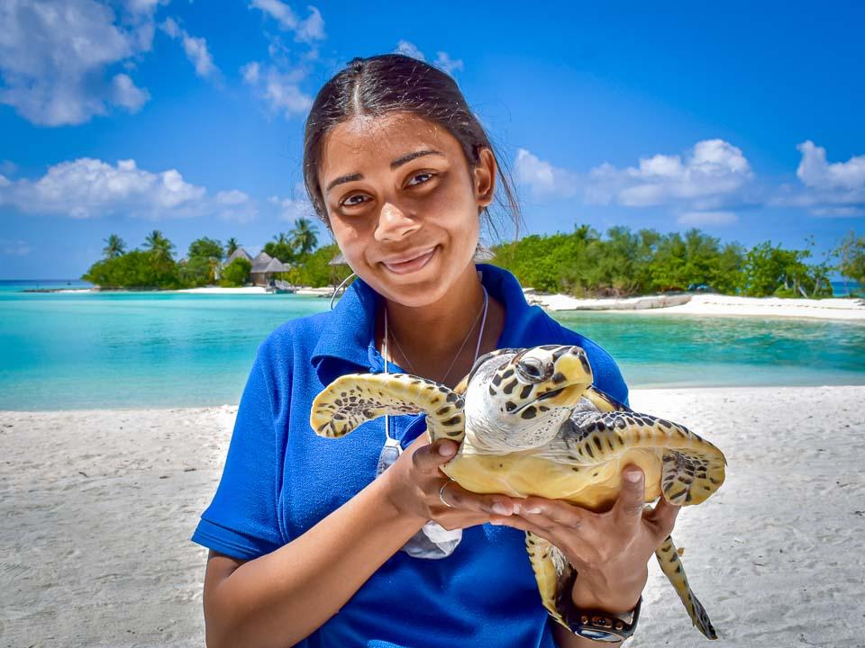 Meet Maanee, Marine Biologist