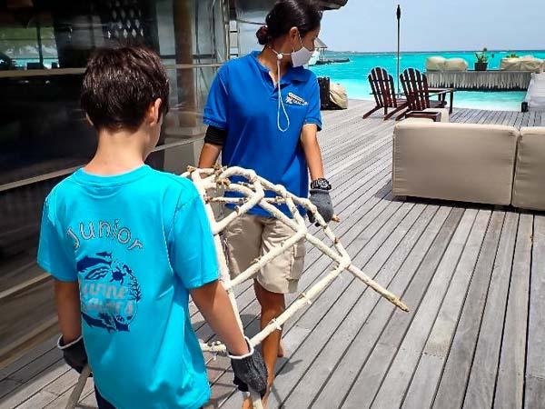 Junior Marine Savers Kuda Huraa corals & crafts